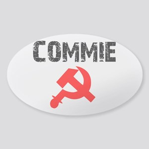 Commie Sticker (Oval)
