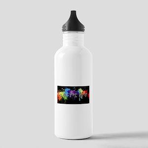 srtist paint platter Stainless Water Bottle 1.0L