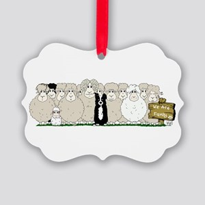 Les Moutons-Final-1 Picture Ornament