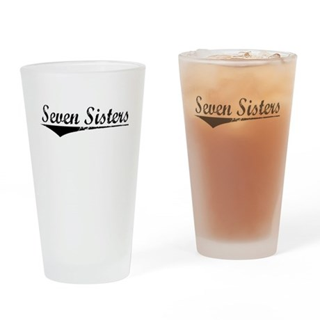 Seven Sisters, Aged, Drinking Glass