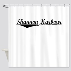 Shannon Harbour, Aged, Shower Curtain