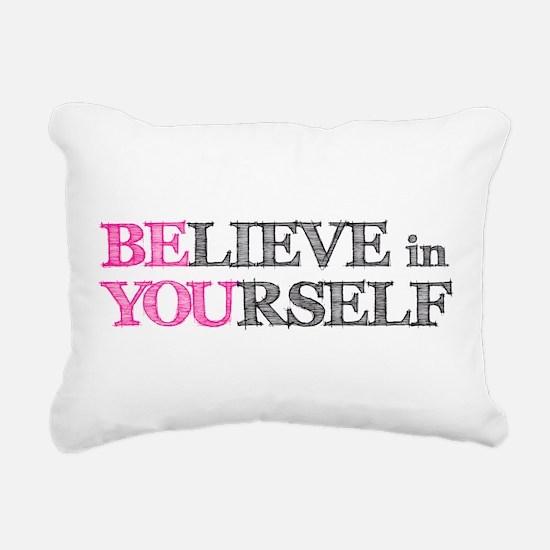 Cute Training Rectangular Canvas Pillow