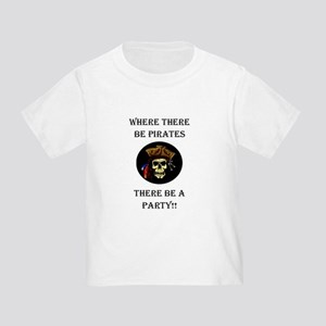 PartyPirate2a Toddler T-Shirt