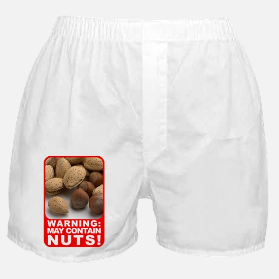 Contains Nuts Boxer Shorts