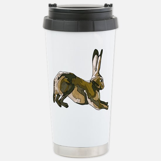 Hare Brown.jpg Stainless Steel Travel Mug
