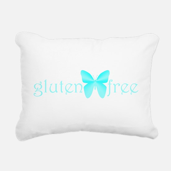 gluten-free-butterfly-teal Rectangular Canvas Pill