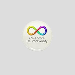 Celebrate Neurodiversity Mini Button