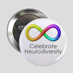 "Celebrate Neurodiversity 2.25"" Button"