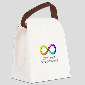 Celebrate Neurodiversity Canvas Lunch Bag