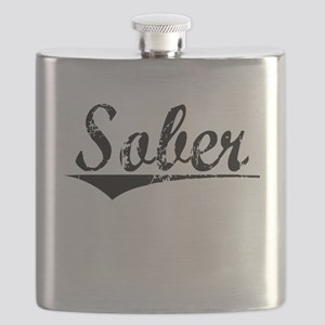 Sober, Aged, Flask