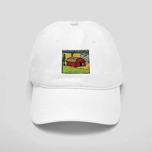 Barn Print Cap