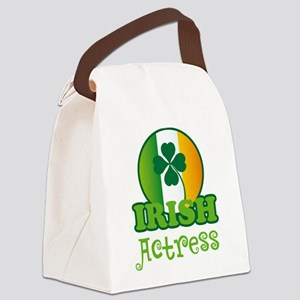 Irish Actress Canvas Lunch Bag