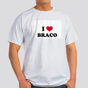 I HEART BRACO  Ash Grey T-Shirt