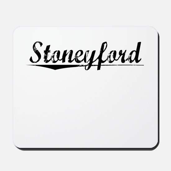 Stoneyford, Aged, Mousepad