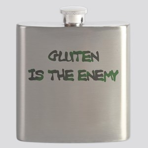 GLUTEN IS THE ENEMY Flask