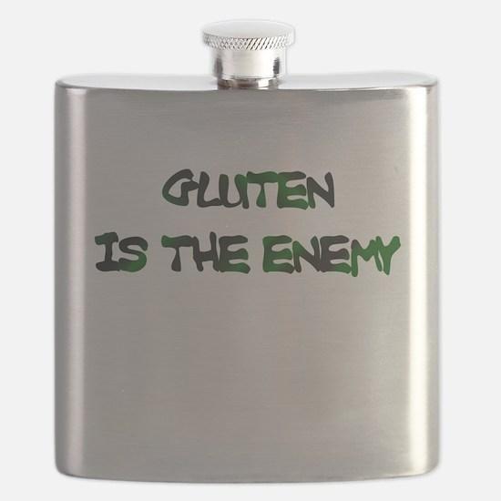 GLUTEN IS THE ENEMY Flask