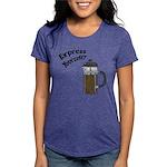 FIN-express-yourself-1 Womens Tri-blend T-Shir