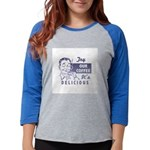 FIN-try-our-coffee-ad Womens Baseball Tee