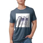 FIN-try-our-coffee-ad Mens Tri-blend T-Shirt