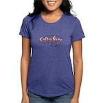 FIN-coffee-shop-2 Womens Tri-blend T-Shirt