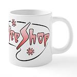 FIN-coffee-shop-2 20 oz Ceramic Mega Mug