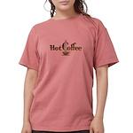 FIN-hot-coffee Womens Comfort Colors Shirt