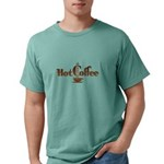 FIN-hot-coffee Mens Comfort Colors Shirt