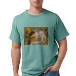 FIN-abstract-coffee Mens Comfort Colors Shirt