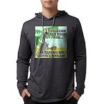 FIN-ass-coffee-break Mens Hooded Shirt