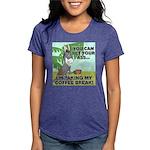 FIN-ass-coffee-break Womens Tri-blend T-Shirt