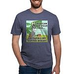 FIN-ass-coffee-break Mens Tri-blend T-Shirt