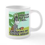 FIN-ass-coffee-break 20 oz Ceramic Mega Mug
