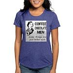 FIN-coffee-chocolate-men Womens Tri-blend T-Sh