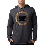 FIN-life-after-coffee Mens Hooded Shirt