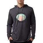 FIN-work-cappuccino Mens Hooded Shirt