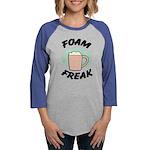 FIN-foam-freak Womens Baseball Tee