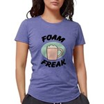 FIN-foam-freak Womens Tri-blend T-Shirt