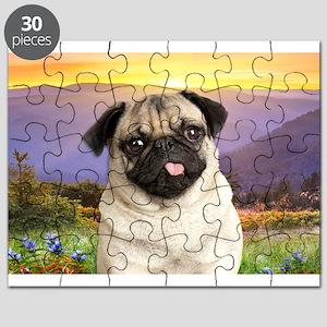 Pug Meadow Puzzle