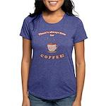 FIN-always-time-coffee Womens Tri-blend T-Shir