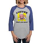 FIN-coffee-quota Womens Baseball Tee