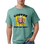 FIN-coffee-quota Mens Comfort Colors Shirt
