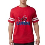FIN-caffeine-molecule Mens Football Shirt