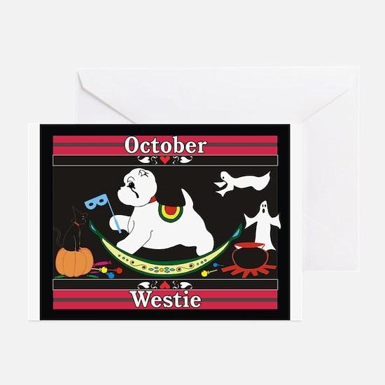 Westie Calendar dog Greeting Cards (Pk of 10)
