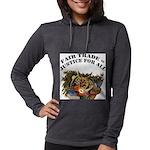 FIN-fair-trade-justice Womens Hooded Shirt