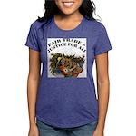 FIN-fair-trade-justice Womens Tri-blend T-Shir