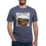 FIN-fair-trade-justice Mens Tri-blend T-Shirt