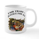 FIN-fair-trade-justice 20 oz Ceramic Mega Mug