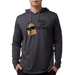 FIN-full-of-beans Mens Hooded Shirt