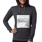 Coffee Beans Womens Hooded Shirt