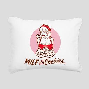 MILF and Cookies Rectangular Canvas Pillow